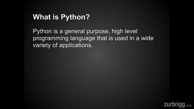 python_overview